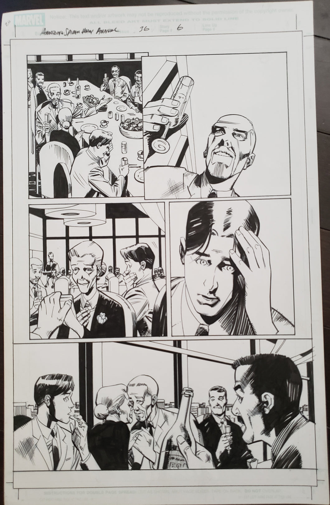 Amazing Spider-Man Annual 36 - Page 6 - Pat Oliffe / Andy Lanning