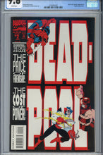 Load image into Gallery viewer, Deadpool Circle Chase #2 CGC 9.8