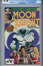 Load image into Gallery viewer, Moon Knight #1 CGC 9.6