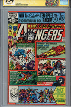 Load image into Gallery viewer, Avengers Annual #10 CGC 9.4 SS Signed Remarked Milgrom