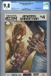 Amazing Spider-Man #4 CGC 9.8 1st Appearance of Silk