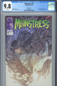 Monstress #10 CGC 9.8 Variant Cover