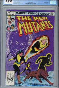 The New Mutants #1 CGC 9.8