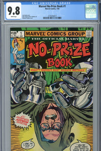 Marvel No-Prize Book #1 CGC 9.8