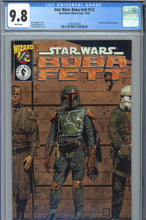 Load image into Gallery viewer, Star Wars Boba Fett #1/2 CGC 9.8