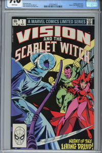 Vision and the Scarlet Witch #1 CGC 9.8