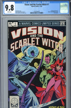 Load image into Gallery viewer, Vision and the Scarlet Witch #1 CGC 9.8