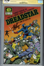 Load image into Gallery viewer, Dreadstar #1 CGC 9.6 SS Signed Starlin