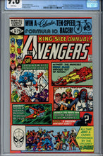 Load image into Gallery viewer, Avengers Annual #10 CGC 9.6 1st Rogue