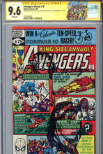 Load image into Gallery viewer, Avengers Annual #10 CGC 9.6 SS 2 x Rogue Sketch