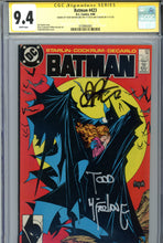 Load image into Gallery viewer, Batman #423 CGC 9.4 SS Signed McFarlane & Starlin