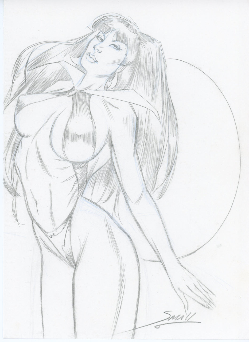 Vampirella Original Art by Louis Small Jr
