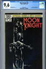Load image into Gallery viewer, Moon Knight #25 CGC 9.6 1st Black Spectre