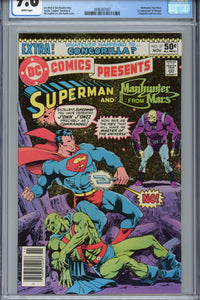 DC Comics Presents #27 CGC 9.8 1st Appearance of Mongul