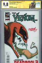 Load image into Gallery viewer, What if... Venom Possessed Deadpool #1 CGC 9.8 SS Signed Young
