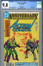 Load image into Gallery viewer, Action Comics #544 CGC 9.8 Canadian Price Variant