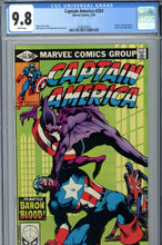 Load image into Gallery viewer, Captain America #254 CGC 9.8