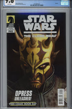 Load image into Gallery viewer, Star Wars The Clone Wars FCBD CGC 9.8 1st Savage Opress