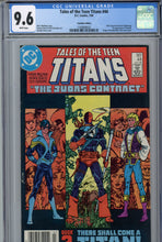 Load image into Gallery viewer, Tales of the Teen Titans #44 CGC 9.6 Canadian Price Variant