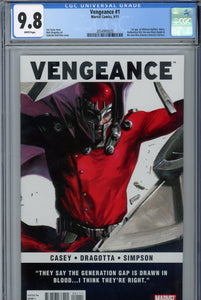 Vengeance #1 CGC 9.8 1st Appearance of Miss America