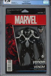 Venom: Space Knight #1 CGC 9.8 Action Figure Variant