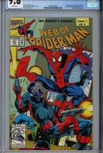 Load image into Gallery viewer, Web of Spider-Man #97 CGC 9.8 1st Appearance of Kevin Trench