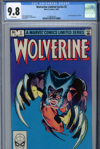 Wolverine Limited Series #2 CGC 9.8