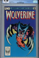 Load image into Gallery viewer, Wolverine Limited Series #2 CGC 9.8