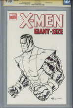 Load image into Gallery viewer, X-Men Giant Size #1 CGC 9.8 SS Blank Cover McKone Sketch