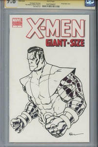 X-Men Giant Size #1 CGC 9.8 SS Blank Cover McKone Sketch