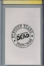 Load image into Gallery viewer, Walking Dead 15th Anniversary Edition #19 CGC 9.8 SS Signed Campbell