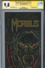 Load image into Gallery viewer, Morbius: The Living Vampire #12 CGC 9.8 SS Sketched on Both Covers