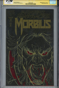 Morbius: The Living Vampire #12 CGC 9.8 SS Sketched on Both Covers