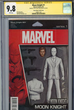 Load image into Gallery viewer, Moon Knight #1 CGC 9.8 SS Action Figure Variant