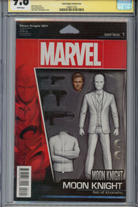 Moon Knight #1 CGC 9.8 SS Action Figure Variant