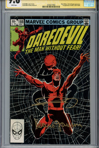 Daredevil #188 CGC 9.8 SS Signed Miller & Janson