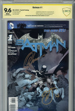 Load image into Gallery viewer, Batman #1 New 52 x 5 CBCS 1st (Newsstand) 2nd, 3rd, 4th, 5th Print
