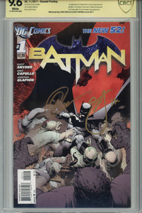 Batman #1 New 52 x 5 CBCS 1st (Newsstand) 2nd, 3rd, 4th, 5th Print