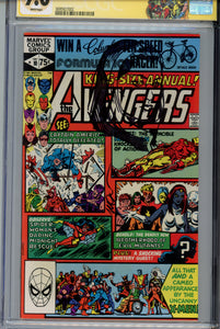 Avengers Annual #10 CGC 9.6 SS Rogue Sketch by Golden