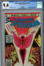 Load image into Gallery viewer, Amazing Spider-Man Annual #16 CGC 9.4 Canadian Price Variant