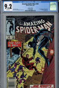 Amazing Spider-Man #265 CGC 9.2 Canadian Price Variant