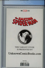 Load image into Gallery viewer, Amazing Spider-Man #798 CGC 9.8 Third Printing Unknown Comics Variant