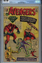Load image into Gallery viewer, Avengers #2 CGC 3.0 1st Appearance of Space Phantom