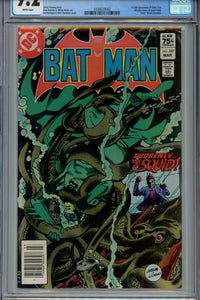 Batman #357 CGC 9.2 Canadian Price Variant 1st Killer Croc & Jason Todd