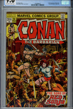 Load image into Gallery viewer, Conan The Barbarian #24 CGC 9.6 1st Red Sonja Cover