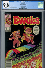 Load image into Gallery viewer, Ewoks #1 CGC 9.6 Canadian Price Variant