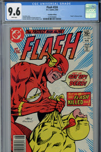 Flash #324 CGC 9.6 Canadian Price Variant