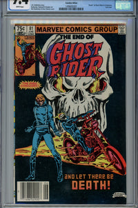 Ghost Rider #81 CGC 9.4 Canadian Price Variant