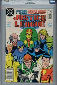 Justice League #1 CGC 9.8 Canadian Price Variant 1st Black King