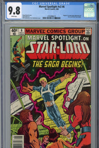 Marvel Spotlight #v2 #6 CGC 9.8 1st Starlord in Comics